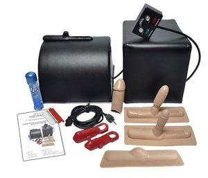 Sybian for Women: Black with Beige Attachments